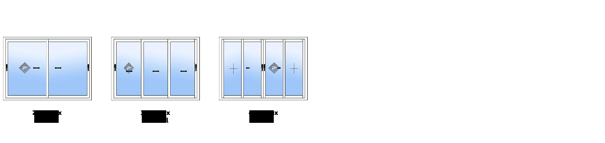 Guide configuration fen tres en aluminium fenetre for Type de fenetre aluminium